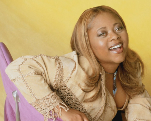 actress Countess Vaughn teen leafless photoshoot home