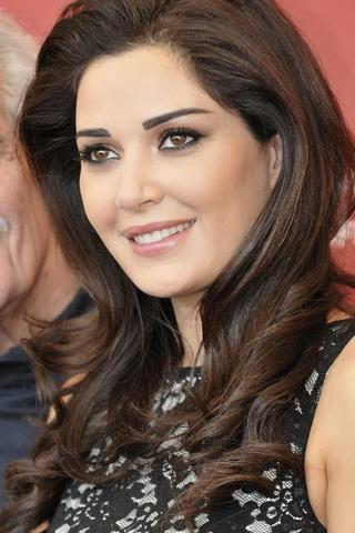 actress Cyrine AbdelNour 23 years concupiscent picture home