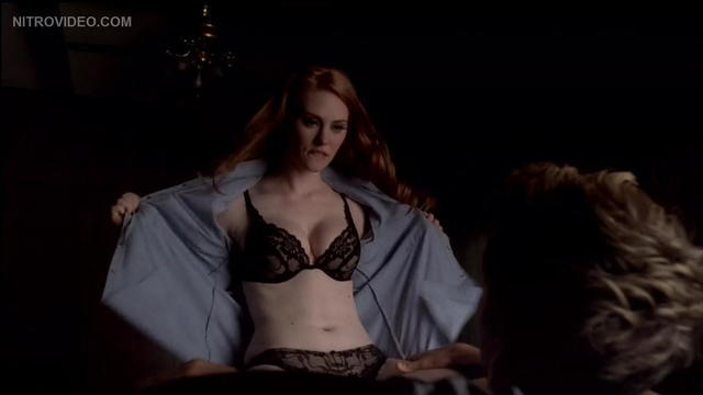 models Deborah Ann Woll 24 years stripped art in the club
