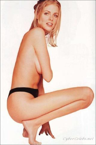 Naked Donna Air art