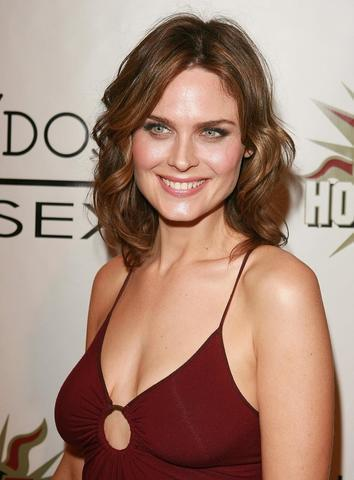 celebritie Emily Deschanel 22 years uncovered photography in public