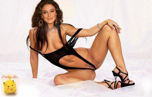 models Emmanuelle Chriqui 21 years amatory photo in public