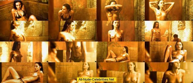 actress Eve Mauro 20 years unclothed photoshoot in public