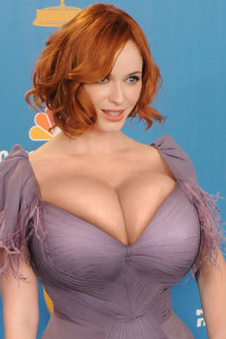 Naked Christina Hendricks photography