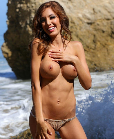 models Farrah Abraham 25 years salacious photos in the club
