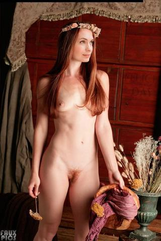 Naked Felicia Day art