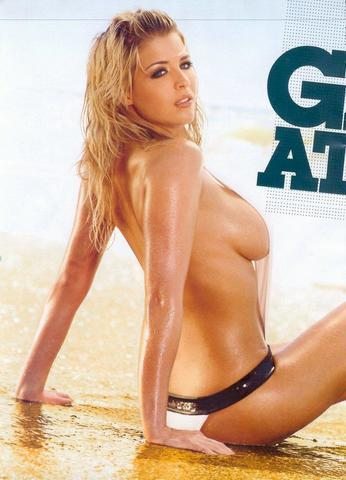 actress Gemma Atkinson 21 years Uncensored picture beach