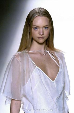 Gemma Ward topless photoshoot
