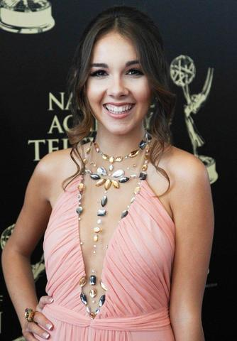 celebritie Haley Pullos 2015 breasts picture in public