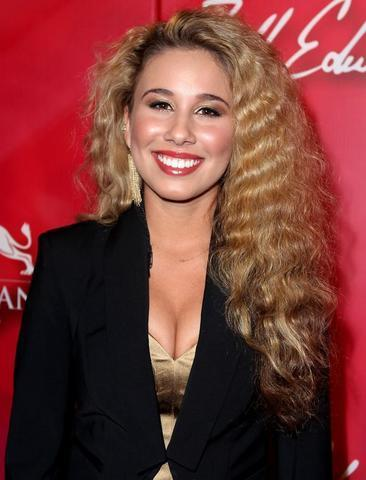 celebritie Haley Reinhart 21 years sky-clad snapshot in public