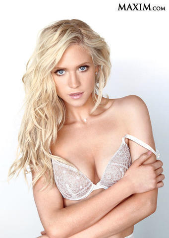 Brittany Snow topless photoshoot