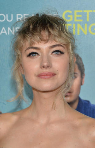 actress Imogen Poots 25 years Without panties photoshoot home
