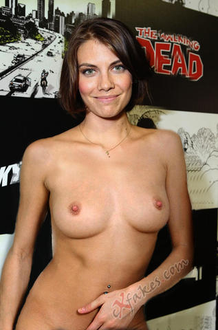 Hot photoshoot Lauren Cohan tits