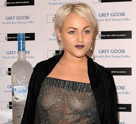 Jaime Winstone topless photoshoot