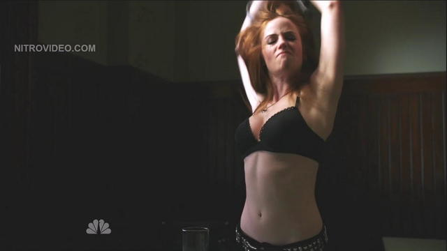 Jaime Ray Newman topless foto