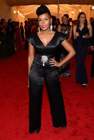 actress Janelle Monáe 25 years indecent snapshot home