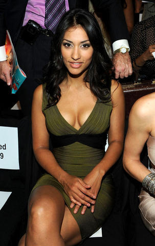 models Janina Gavankar 22 years lascivious art in the club
