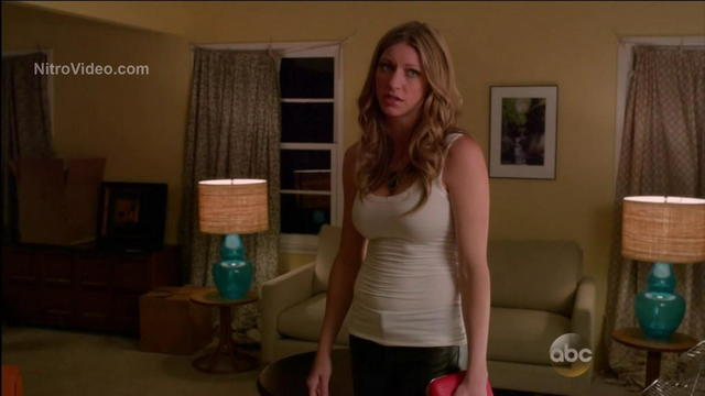 Jes Macallan topless image