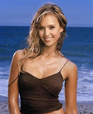 celebritie Jessica Alba 24 years tits photography home