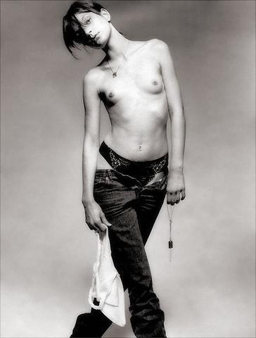 Naked Jessica Stam photography