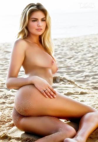 actress Kate Upton young leafless image in public