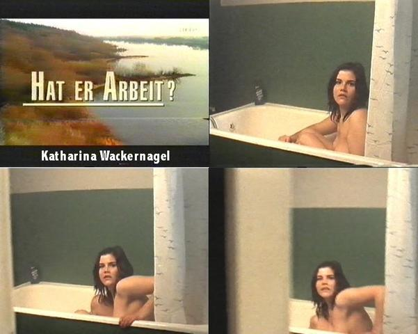 Naked Katharina Wackernagel art