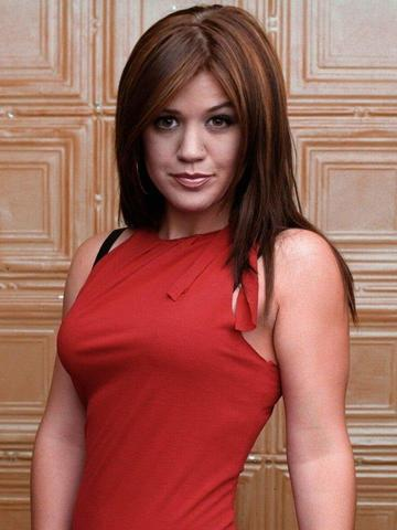 actress Kelly Clarkson 21 years lascivious image home
