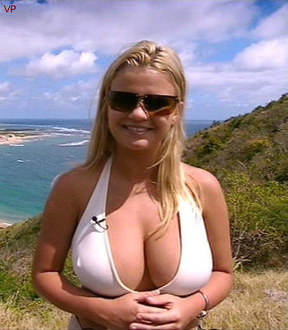 actress Kerry Katona 21 years unmasked foto beach