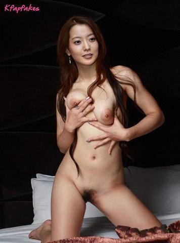 actress Seon-a Kim 22 years tits foto in public