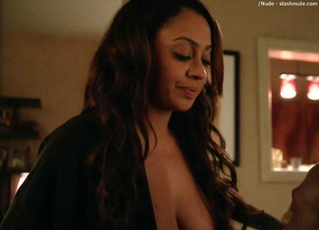 La La Anthony topless photoshoot