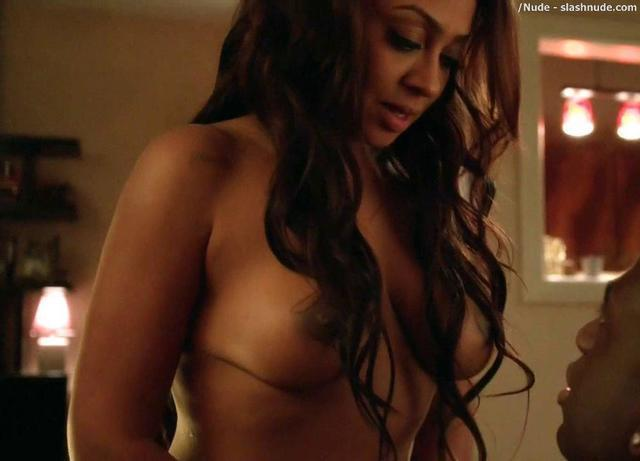 Naked La La Anthony photography