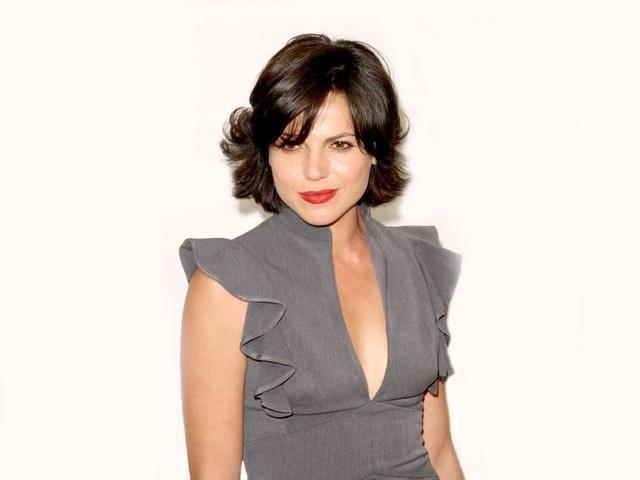 models Lana Parrilla 23 years Without swimming suit image in public