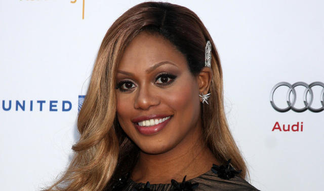 Naked Laverne Cox photos