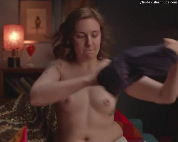 Grace Dunham topless picture