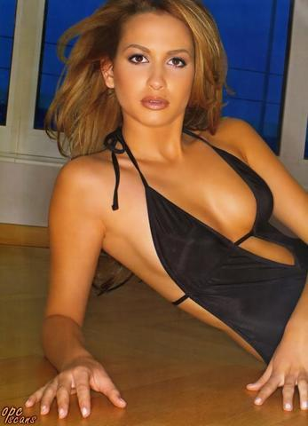 celebritie Mandy Grace Capristo young Without brassiere pics home