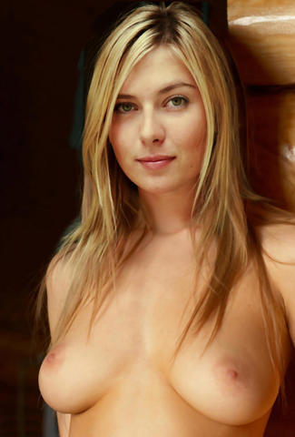 Maria Sharapova topless picture
