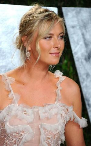 actress Maria Sharapova 20 years raunchy photos home