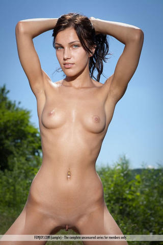 Megan Joy topless photography