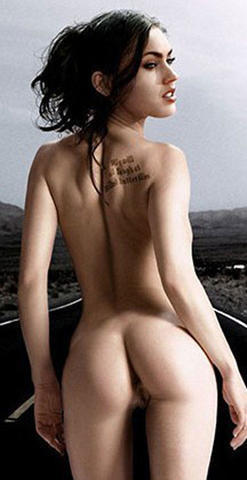 actress Megan Fox 18 years indelicate pics beach