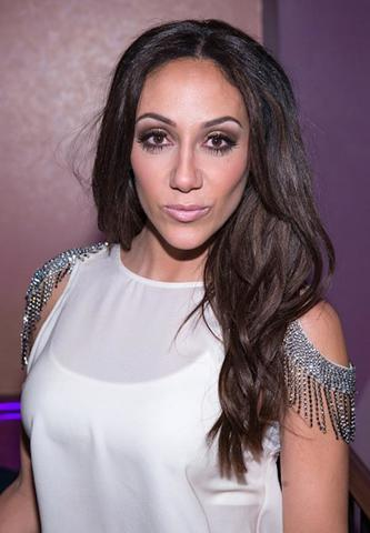 celebritie Melissa Gorga 20 years seductive foto in public