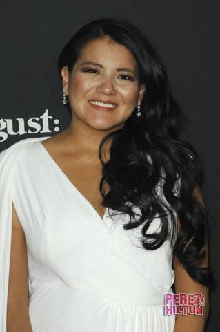 actress Misty Upham 18 years flirtatious snapshot in public