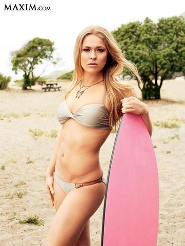 models Ronda Rousey 2015 swimsuit photoshoot in the club