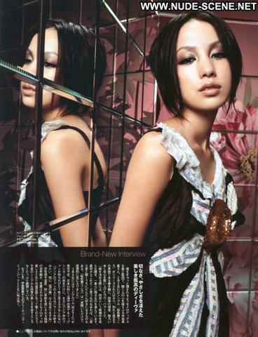 actress Mika Nakashima 22 years barefaced foto in public
