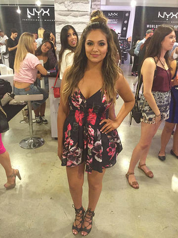 models Bethany Mota 22 years Uncensored photo in public