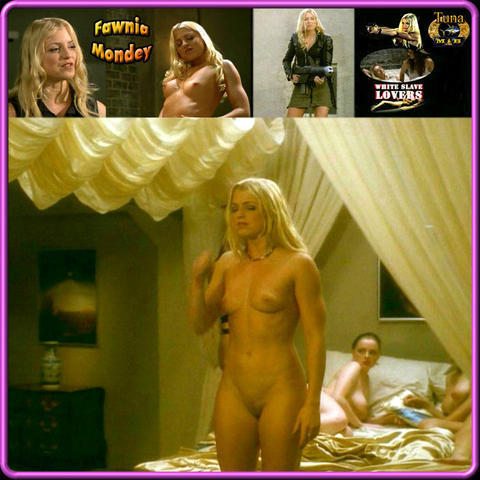 celebritie Fawnia Mondey 19 years nude art home