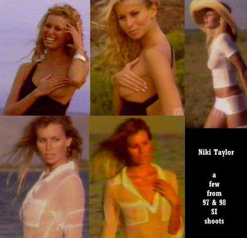 models Niki Taylor 19 years Hottest photos beach