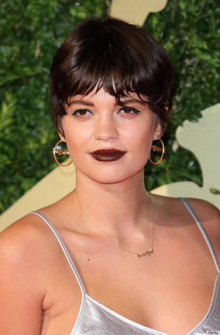 actress Pixie Geldof 23 years the nude photography in public