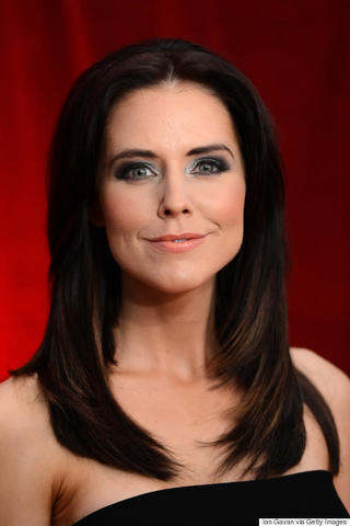 actress Stephanie Waring 23 years Without bra foto in public