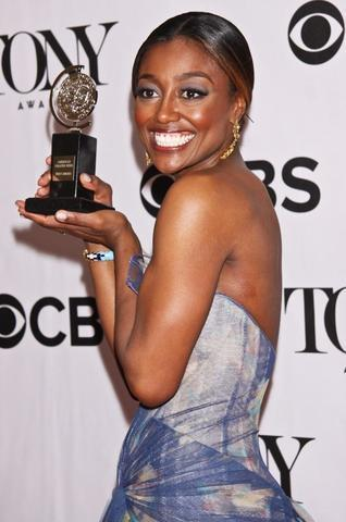 models Patina Miller 18 years teat photoshoot in public