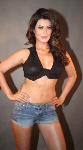 models Payal Rohatgi young provocative art in public